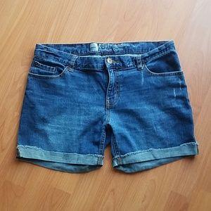 Mossimo Premium Denim Boyfriend Jean Shorts 8